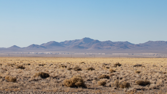 A view from Tonopah Test Range Airport