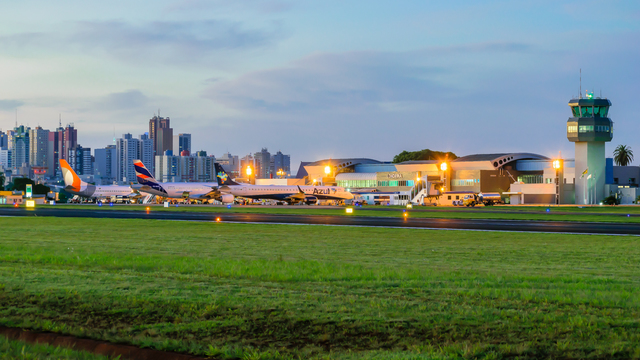 A view from Londrina Airport