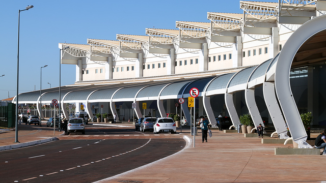 A view from Goiania Santa Genoveva Airport