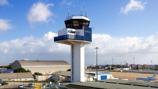 A view from Lisbon Humberto Delgado Airport
