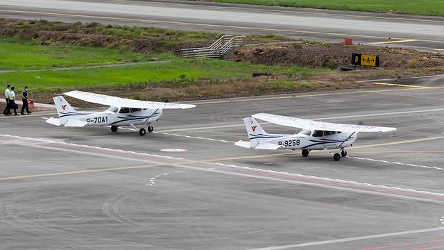A view from Mianyang Nanjiao Airport