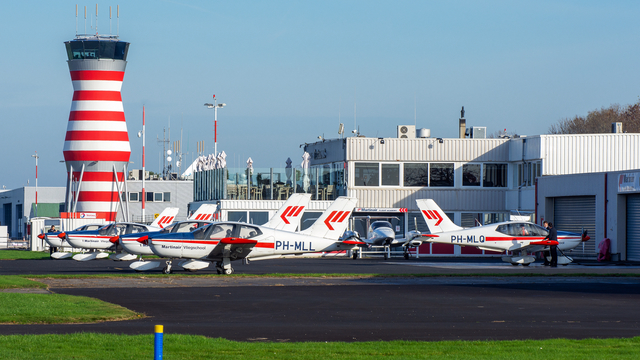 A view from Lelystad Airport