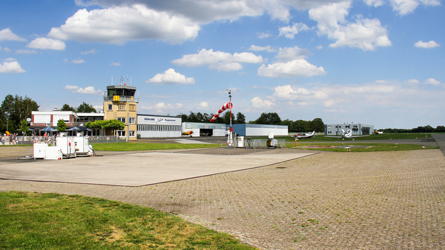 A view from Stadtlohn Vreden Airport