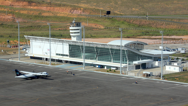 A view from Juiz de Fora Airport
