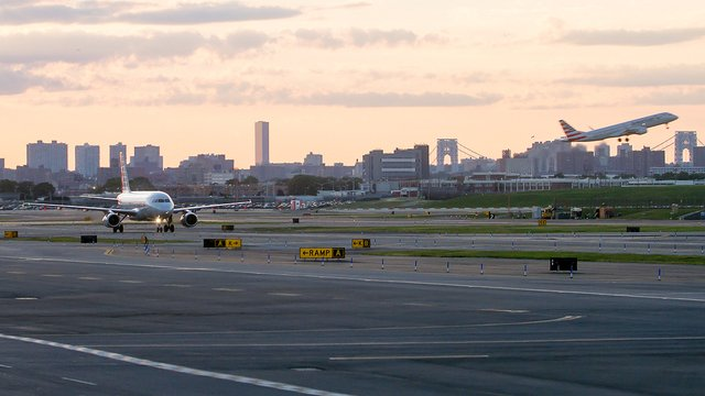 A view from New York LaGuardia Airport