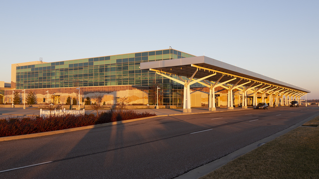 A view from Springfield Branson National Airport