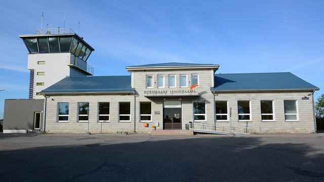 A view from Kuressaare Airport