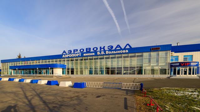 A view from Novokuznetsk Spichenkovo Airport