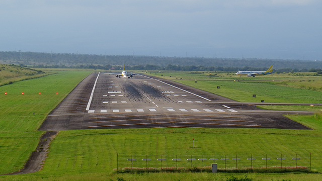 A view from General Santos International Airport