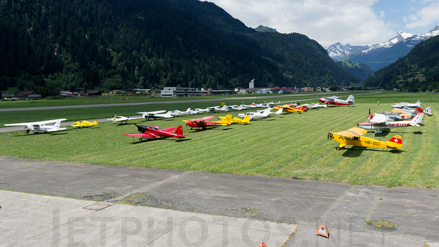 A view from Quinto Ambri Airport