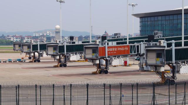 A view from Hangzhou Xiaoshan International Airport
