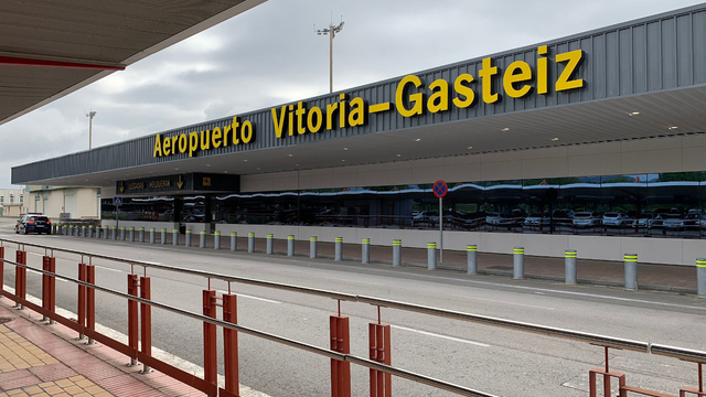 A view from Vitoria Airport