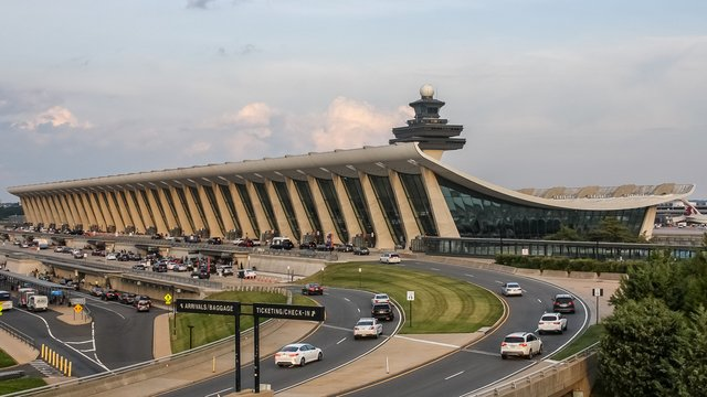 A view from Washington Dulles International Airport