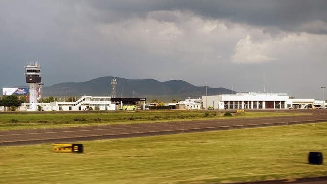 A view from Aguascalientes International Airport