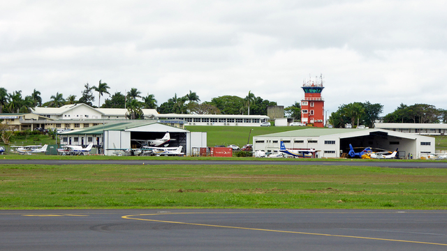 A view from Nadi International Airport