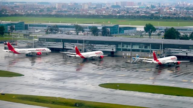 A view from Bogota El Dorado International Airport