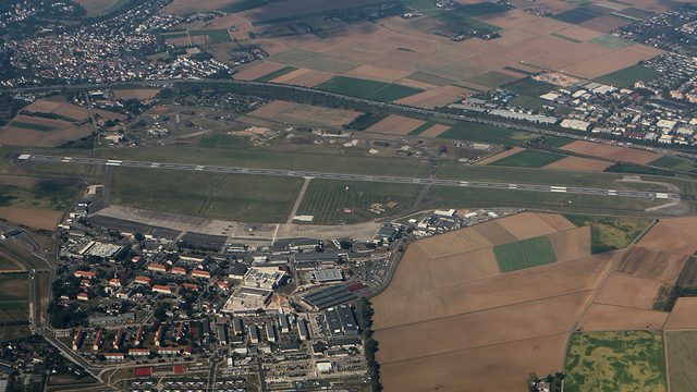 A view from Wiesbaden Army Airfield