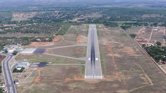 A view from Juazeiro do Norte Airport