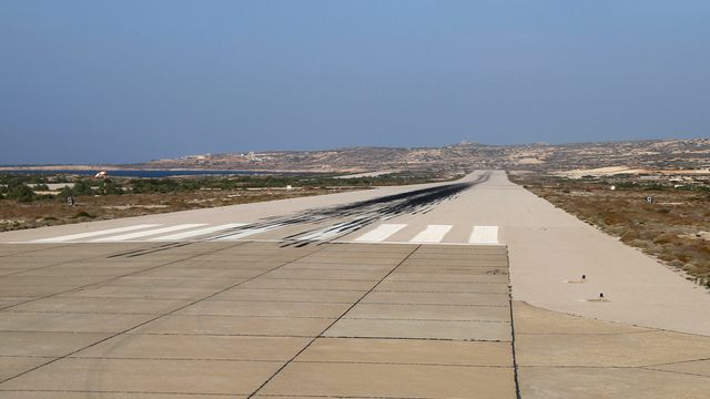 A view from Karpathos Island National Airport