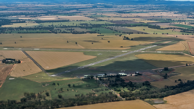 A view from Parkes Airport