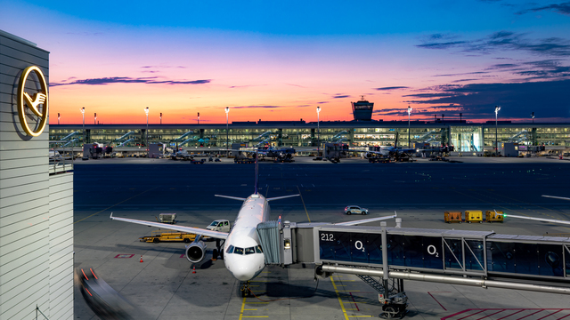 A view from Munich Airport