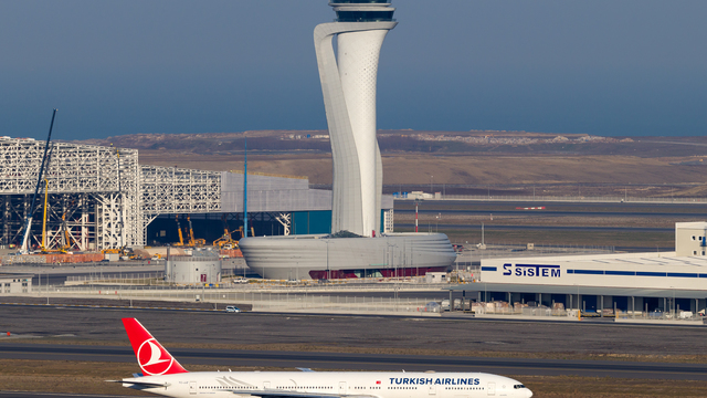 A view from Istanbul Airport