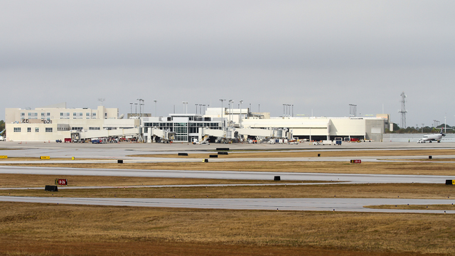 A view from Pensacola International Airport