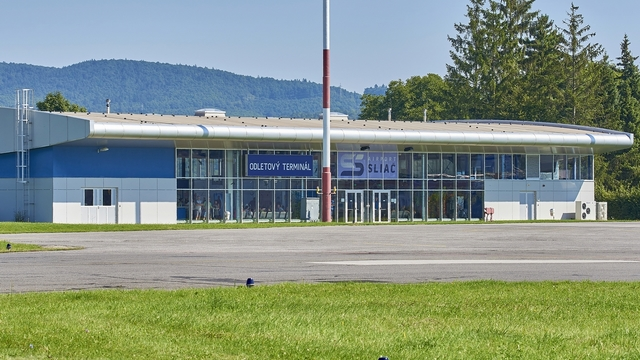 A view from Sliac Airport