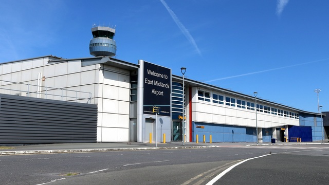 A view from East Midlands Airport