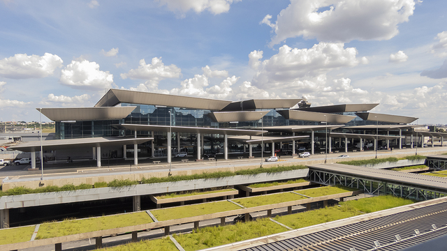 A view from Sao Paulo Guarulhos International Airport