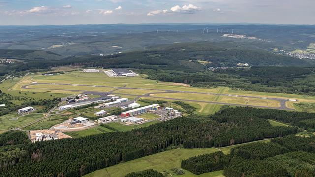A view from Siegen Siegerland Airport