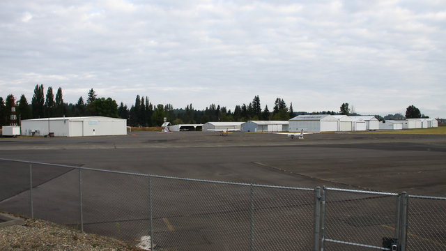 A view from Chehalis Centralia Airport