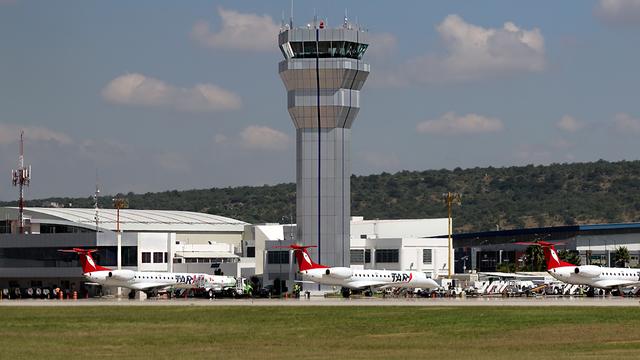 A view from Queretaro International Airport