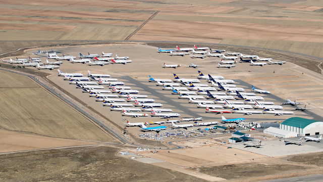 A view from Teruel Airport