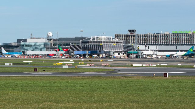 A view from Dublin Airport
