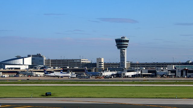 A view from Philadelphia International Airport
