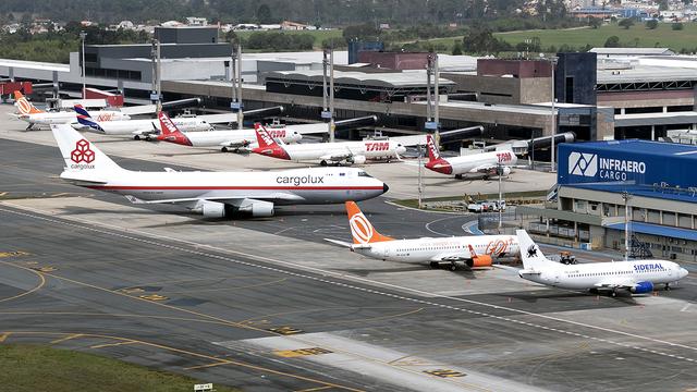 A view from Curitiba Afonso Pena International Airport