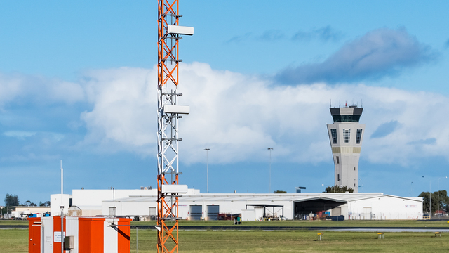 A view from Adelaide Airport