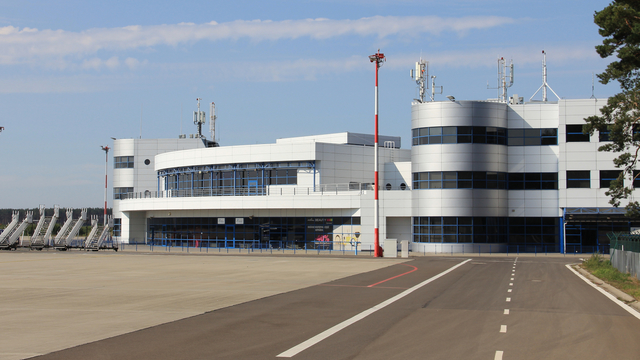 A view from Szczecin Goleniow Airport