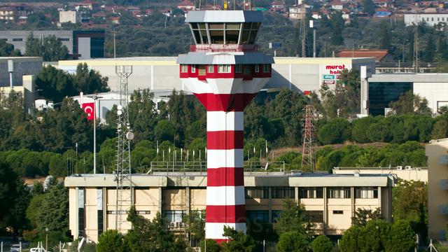 A view from Izmir Adnan Menderes International Airport