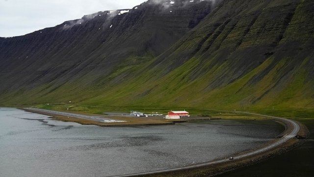 A view from Isafjordur Airport