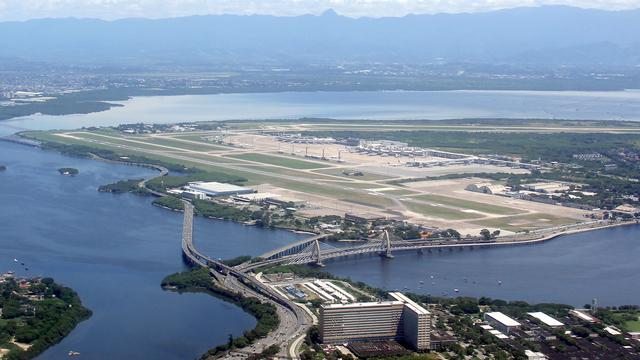 A view from Rio de Janeiro Galeao International Airport