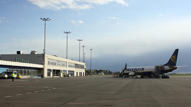 A view from Ostrava Leos Janacek Airport