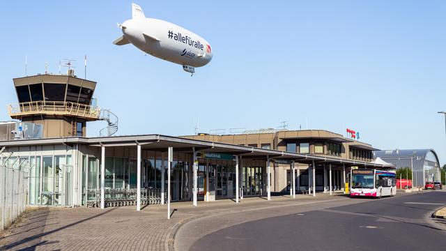 A view from Dusseldorf Monchengladbach Airport