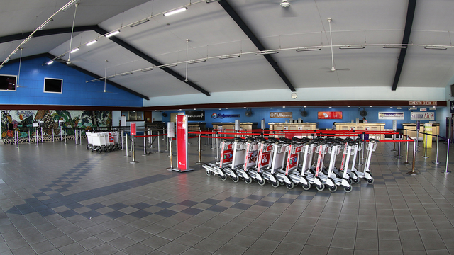 A view from Apia Faleolo International Airport