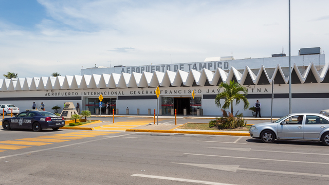 A view from Tampico International Airport