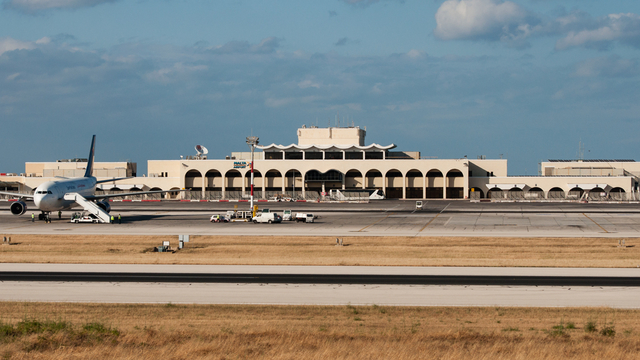 A view from Luqa Malta International Airport