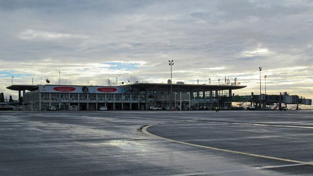 A view from Dar-es-Salaam Julius Nyerere International Airport