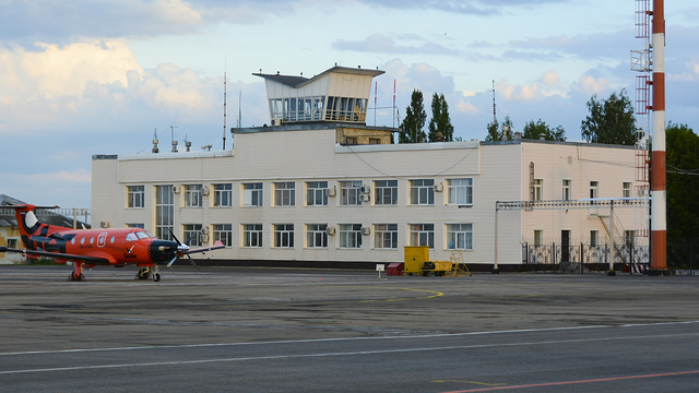 A view from Lipetsk Airport