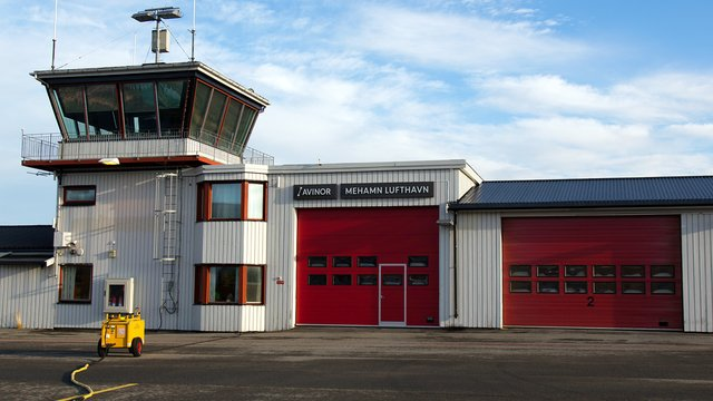 A view from Mehamn Airport